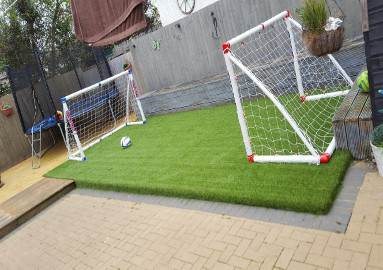 Children's Area with Artificial Grass
